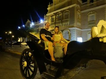 Passeio de carruagem na Ciudad Amurallada